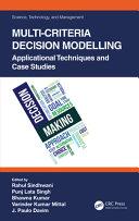 Multi Criteria Decision Modelling