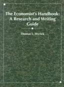 The Economist s Handbook