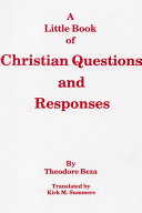 A Little Book of Christian Questions and Responses [Pdf/ePub] eBook