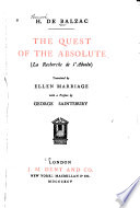 The Quest of the Absolute Book
