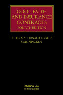 Good Faith and Insurance Contracts [Pdf/ePub] eBook
