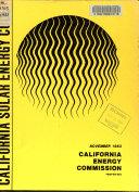 California Solar Energy Code