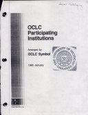 OCLC Participating Institutions