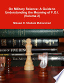 On Military Science A Guide To Understanding The Meaning Of F O I Volume 2