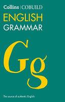 Cover of COBUILD English Grammar