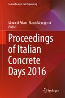 Proceedings of Italian Concrete Days 2016