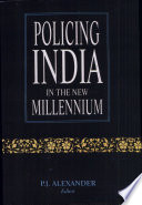 Policing India in the New Millennium
