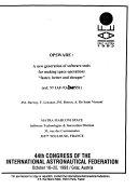 44th Congress of the International Astronautical Federation
