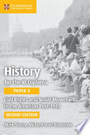 Books - History For The Ib Diploma Paper 3: Civil Rights And Social Movements In The Americas Post-1945 | ISBN 9781316605967