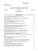 Journal of the Indian Chemical Society Book