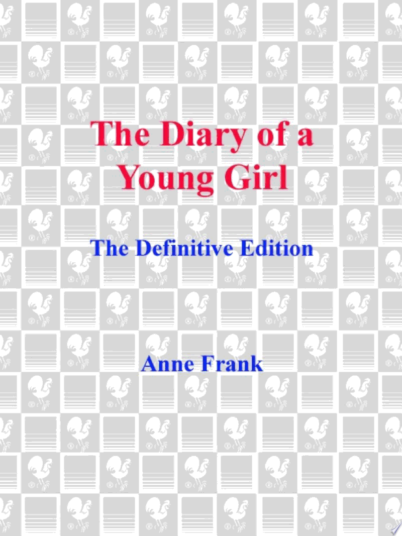 The Diary of a Young Girl banner backdrop