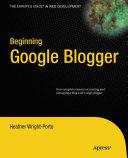 Beginning Google Blogger Pdf/ePub eBook