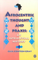 Afrocentric Thought and Praxis Book