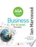 AQA Business for A Level (Marcousé)
