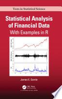 Statistical Analysis of Financial Data