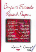 Composite Materials Research Progress Book PDF