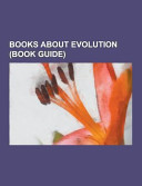 Books about Evolution