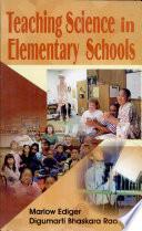 Teaching Science In Elementary Schools
