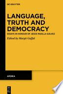 Language, Truth and Democracy
