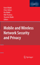 Pdf Mobile and Wireless Network Security and Privacy