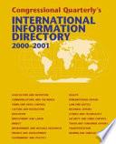 International Information Directory 2000-2001