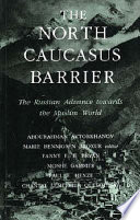 The North Caucasus Barrier