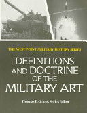 Definitions and Doctrine of the Military Art