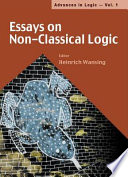 Essays on Non classical Logic
