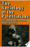The Sociology of the Palestinians