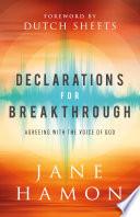 Declarations for Breakthrough Book