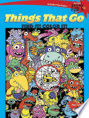 Spark Things That Go Find It  Color It  Book PDF