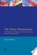The Italian Renaissance Book PDF