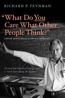 What Do You Care What Other People Think   Book PDF