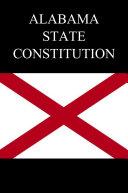 Alabama State Constitution Pdf/ePub eBook