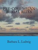 Pre columbian Burial Rites Book