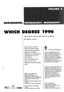 Which Degree 1996
