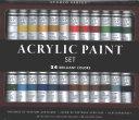 Studio Series Acrylic Paint Set, 24 Colors