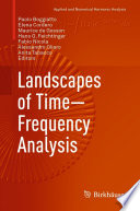 Landscapes of Time Frequency Analysis