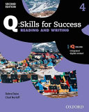 Q Skills for Success  Level 4  Reading and Writing Student Book with IQ Online