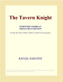 The Tavern Knight  Webster s Korean Thesaurus Edition