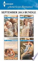 Harlequin American Romance September 2013 Bundle