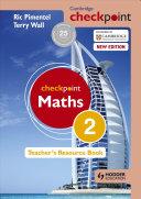 Books - Checkpoint Mathematics Teachers Resource Book 2 | ISBN 9781444143935