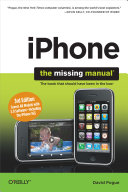Iphone Uk The Missing Manual [Pdf/ePub] eBook