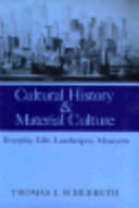 Cultural History and Material Culture