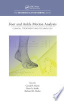 Foot And Ankle Motion Analysis Book PDF