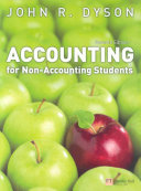 Cover of Accounting for Non-accounting Students