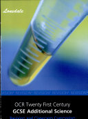 Essentials of Ocr Additional Science a T ebook