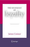 The Sociology of Loyalty Pdf/ePub eBook
