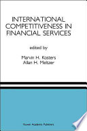 International Competitiveness in Financial Services Book