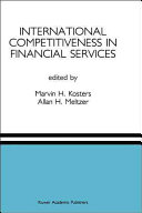 International Competitiveness in Financial Services ebook